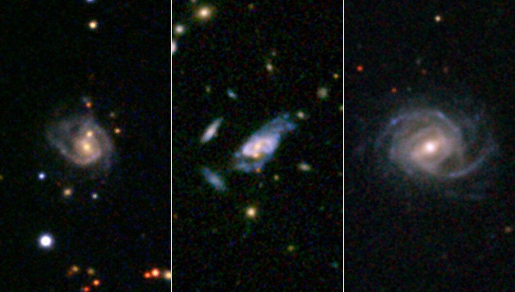 Галактики розбрату