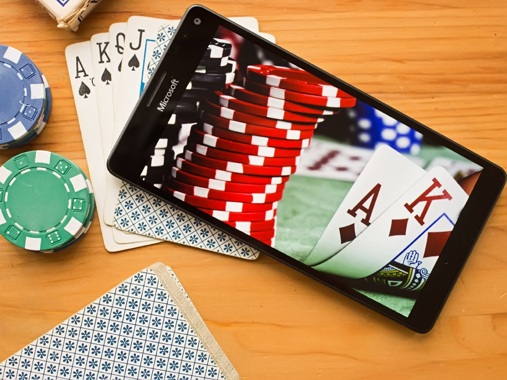 Онлайн казино на смартфоне
